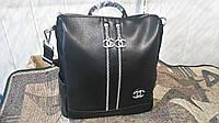 Женская сумка Шанель черная экокожа новинка модная