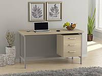 Стол письменный L-45 Loft design (ЛДСП: Рустер, Венге Корсика, Дуб Палена, Орех Модена), фото 1