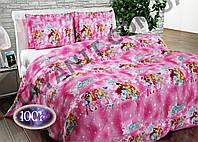 Детский комплект постельного белья в кроватку №дплм07