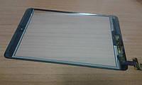 """Сенсорное стекло (тачскрин) для планшета Apple iPad Mini 1 / 2 7.9"""" черный (with IC Flex Connector)"""