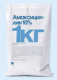 Амоксицилин 10% 1 кг INVESA (Испания) ветеринарный антибиотик для птицы, фото 2