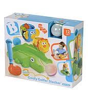 Развивающая игрушка игра в гольф Little Tikes Golfer Stacker. США, оригинал