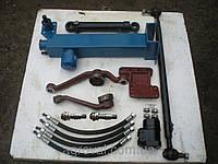 Комплект переоборудования рулевого управления МТЗ-80 под насос дозатор со стальным рулевым кронштейном