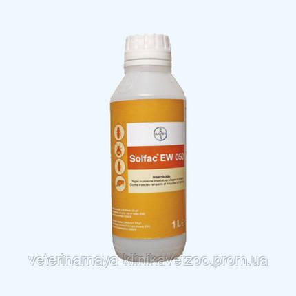 Сольфак 1 л Bayer (Германия) современное высокоэффективное средство от мух, комаров тараканов и клещей., фото 2