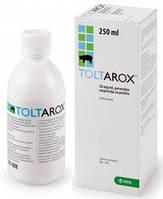 Толтарокс 5% (толтразурил-50 мг) 250 мл KRKA (Словения) препарат для профилактики и лечения кокцидиоза