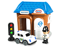 Полицейский участок  Little Tikes Police Station. Оригинал, США, фото 1