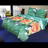 Модное постельное белье 3D ТЕП  RestLine 185 «Sunny rouses»