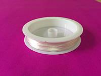 Леска стрейч 0,6 мм белая