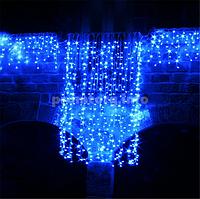 Уличная светодиодная гирлянда 180LED Шторы размер 1,5х1,3м цвет голубой