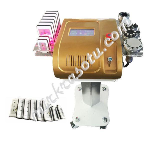 Аппарат RMS-811 (5 в 1) для лазерной липосакции, УЗ и РФ кавитации
