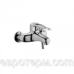 Смеситель для ванны короткий гусак с евро переключением Haiba Focus 009