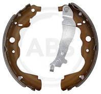 Барабанные тормозные колодки (задние) Renault Kangoo II 2008-> —  ABS (Нидерланды) - ABS9268