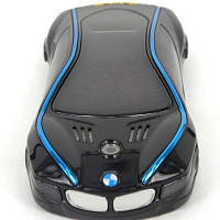 Китайский телефон-машинка BMW i8, 2 сим, Fm, MP3. Металлический корпус.