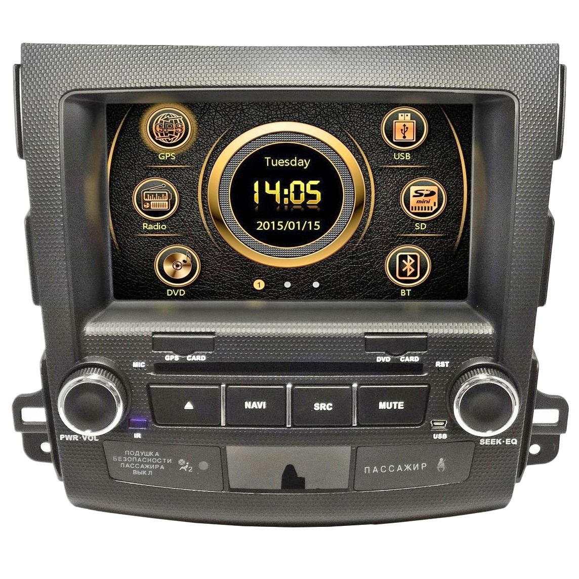 Автомагнитола EasyGo S326 (Outlander 2006-2011)