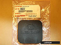 Lexus GX470 GX460 2003-17 крышка заглушка резинка на прицепное устройство (фаркоп) Новая Оригинал
