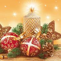 """Набор салфеток """"Новогодние"""", фото 1"""