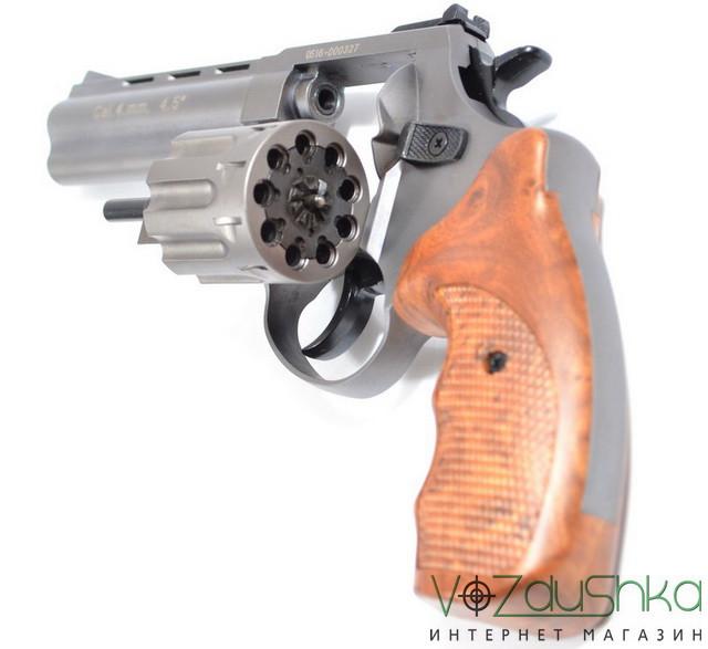 револьвер Stalker Titanium wood 4,5 (gt45w) под патрон флобера