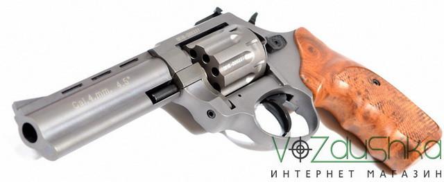 револьвер под флобера Stalker Titanium wood 4,5 (gt45w)