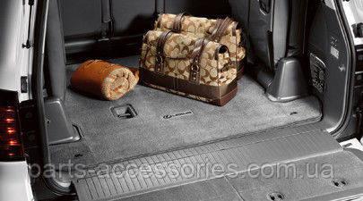 Lexus LX470 LX 470 2003-07 сірий велюровий килимок в багажник Новий Оригінал
