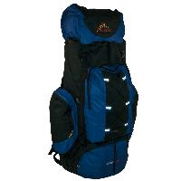 Рюкзак туристический каркасный синий 90 литров