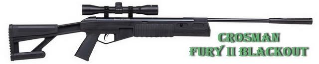 Пневматическая винтовка fury 2 blackout от crosman
