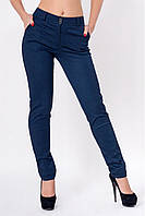 Женские брюки в мелкий узор Изабель