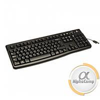 Клавиатура Logitech K120 (920-002643) чорна, класична, USB б/у