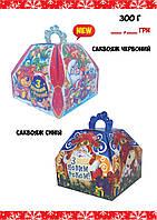 Новогодняя подарочная коробочка (300 грамм)