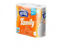 Туалетная бумага Grite Family 4 шт