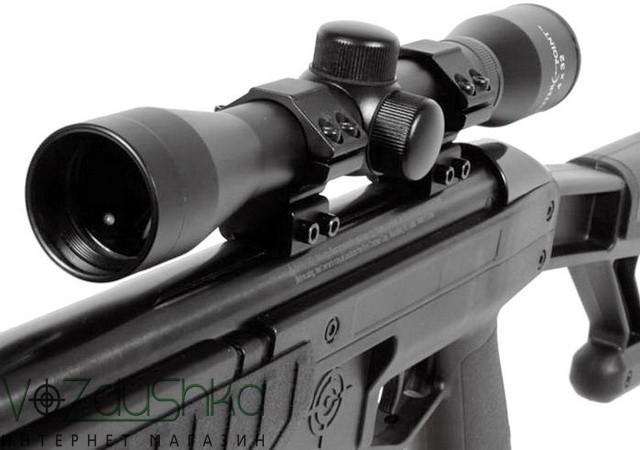 Снайперская винтовка fury ii blackout с оптическим прицелом