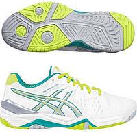 Женские теннисные кроссовки  Asics Gel-Resoluyion 6 E550Y-0188