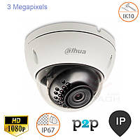 Купольная IP камера 3Мр Dahua DH-IPC-HDBW1320E