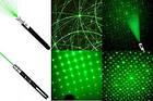 Мощная лазерная указка зеленый луч + 5 насадок , фото 3