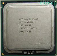 Intel Xeon E5440 SLBBJ (12M Cache, 2.83 GHz, 1333 MHz FSB) +перехідник