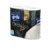 Туалетная бумага Grite Gold Orchidea 4 шт