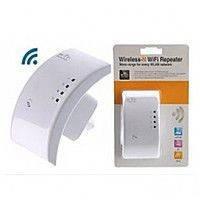 Wi-Fi репитер с EU plug LV-WR 01, ретранслятор wifi, вай фай репитер, повторитель wifi сигнала, фото 1