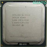 Intel Xeon E5440 SLANS (12M Cache, 2.83 GHz, 1333 MHz FSB) +перехідник