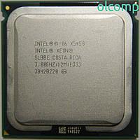 Intel Xeon X5450 SLBBE (12M Cache, 3.00 GHz, 1333 MHz FSB) +перехідник