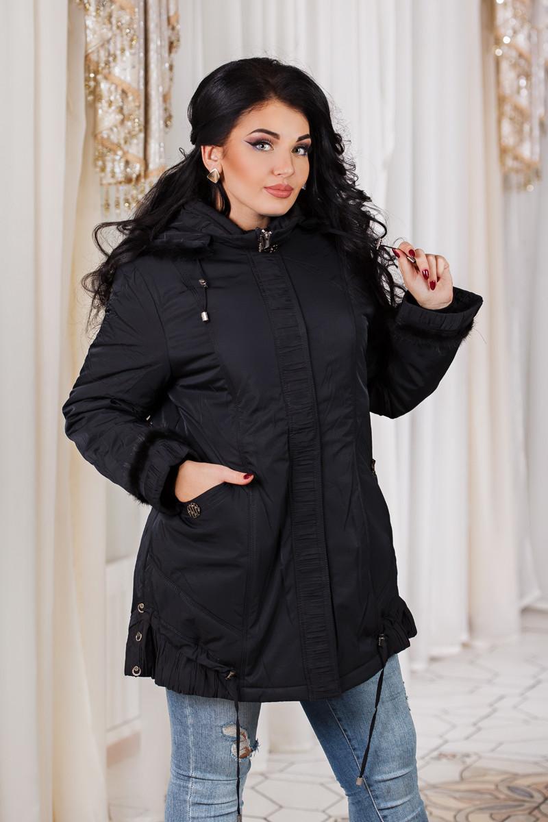ДТ7089 Куртка теплая размеры 52-54
