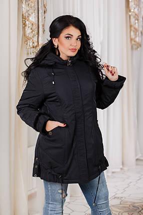 ДТ7089 Куртка теплая размеры 52-54, фото 2
