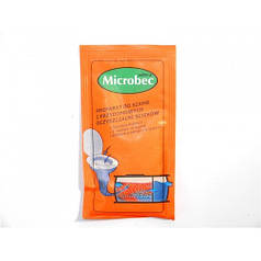 Биодеструктор Микробек / Microbec Ultra (25 г) — средство для септиков, выгребных ям и дачных туалетов