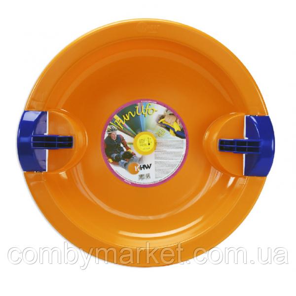 Тарелка Fun Ufo оранжевая