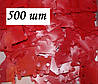 Шпули пластиковые для мулине (500 шт). Цвет - красный