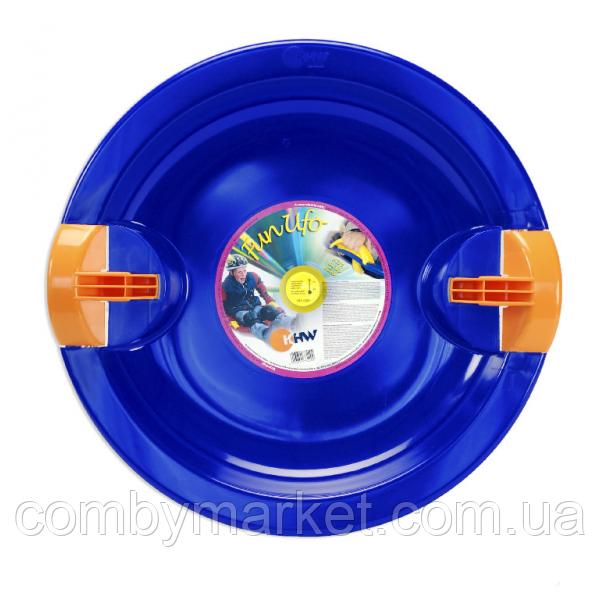 Тарелка Fun Ufo синяя