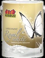 Латексная краска для внутренних работ ЛЮКС ROYAL - WHITE КОСБУД (KOSBUD) 5л АКЦИЯ!!