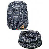 Комплект для мальчика (шапка+снуд) Olta 44-442017