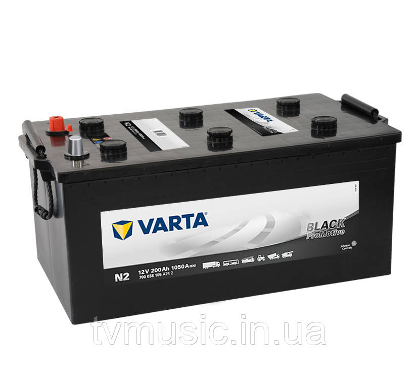 Грузовой аккумулятор Varta Promotive Black N2 200Ah 12V (700 038 105)