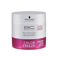 Schwarzkopf BC COLOR FREEZE Treatment Маска для окрашенных волос c защитой цвета 200 мл