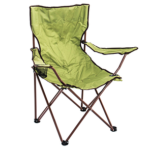 Туристический стул с подлокотниками Хаки, фото 2
