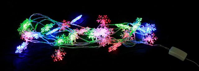 Новогодние электрогирлянды купить